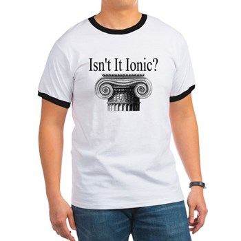 History Gift Guide - History Clothing - Isn't it Ionic? Ringer T