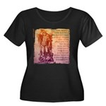 St. Michael Prayer in Latin Women's Plus Size Scoo