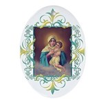 MTA - Our Lady of Schoenstatt Ornament (Oval)