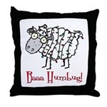 Holiday Humbug Throw Pillow