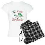 Merry Christmas Women's Light Pajamas
