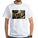 Intoxication Nietzsche Art White T-Shirt