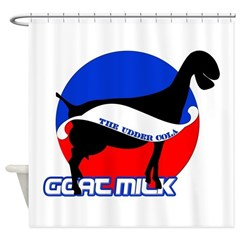 Goat Milk Shower Curtain