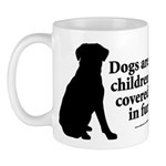 Dog Fur Children Mug
