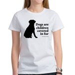 Dog Fur Children Women's T-Shirt