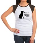 Mutt Fur Children Women's Cap Sleeve T-Shirt