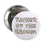 "Country Father of the Groom 2.25"" Button (10 pack)"