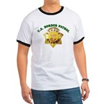 Border Patrol Badge Ringer T
