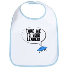 Take Me To Your Leader Bib