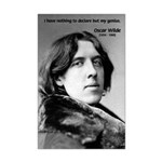 Playwright Oscar Wilde Mini Poster Print