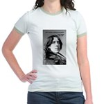 Playwright Oscar Wilde Jr. Ringer T-Shirt