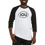 IOU European Oval Cheap Skate Baseball Jersey