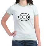 Egg European Oval Jr. Ringer T-Shirt