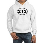 212 New York City Area Code Hooded Sweatshirt