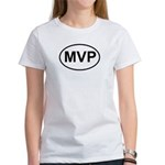 MVP Most Valuable Player Oval Women's T-Shirt