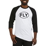 Fly Pilot Flying European Oval Baseball Jersey