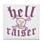 Hell Raiser Funny Tile Coaster