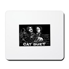 Cat Duet Mousepad