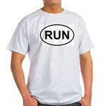Run Runner Running Track Oval Light T-Shirt