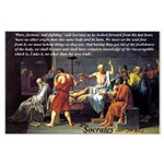 Death of Socrates Large Poster