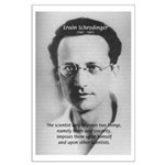 Erwin Schrodinger: Truth Large Poster