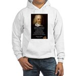 Thomas Hobbes: War Hooded Sweatshirt