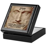 Greek Philosophers: Aristotle Keepsake Box