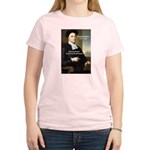 Philosopher: George Berkeley Women's Pink T-Shirt