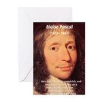 Mathematician: Blaise Pascal Greeting Cards (Packa