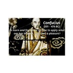 Confucius Rectangle Magnet (100 pack)