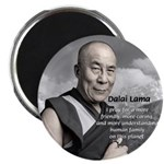 The 14th Dalai Lama Magnet