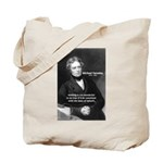 Michael Faraday Tote Bag