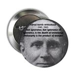 "Philosopher: Alfred Whitehead 2.25"" Button (10 pac"