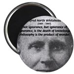 """Philosopher: Alfred Whitehead 2.25"""" Magnet (10 pac"""