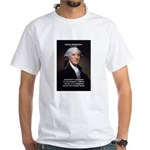 Politics: George Washington White T-Shirt