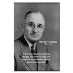 President Harry Truman Large Poster