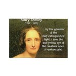 Writer Mary Shelley Rectangle Magnet (100 pack)