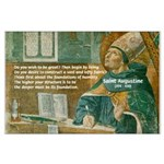 Saint Augustine of Hippo Large Poster