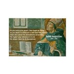 Saint Augustine of Hippo Rectangle Magnet (10 pack