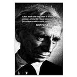 Bertrand Russell Large Poster