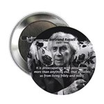 "Bertrand Russell Philosophy 2.25"" Button (100 pack"