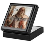 Music and Plato Keepsake Box