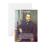 Louis Pasteur: Science Humanity Greeting Cards (Pa