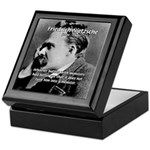 Christian Morality / Nietzsche Keepsake Box