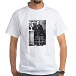 Critic of Religion: Nietzsche White T-Shirt