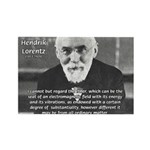 Nobel Prize Physics Lorentz Rectangle Magnet (100