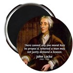 "Philosophy John Locke 2.25"" Magnet (100 pack)"