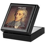 John Locke: Law of Love Keepsake Box