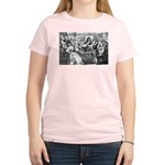 God Unity of All: Leibniz Women's Pink T-Shirt