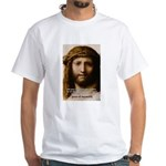 Jesus Peace and Love White T-Shirt